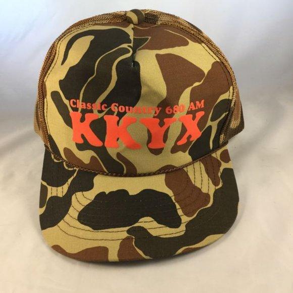 Rare**Vintage KKYX Mesh Trucker Snapback Cap